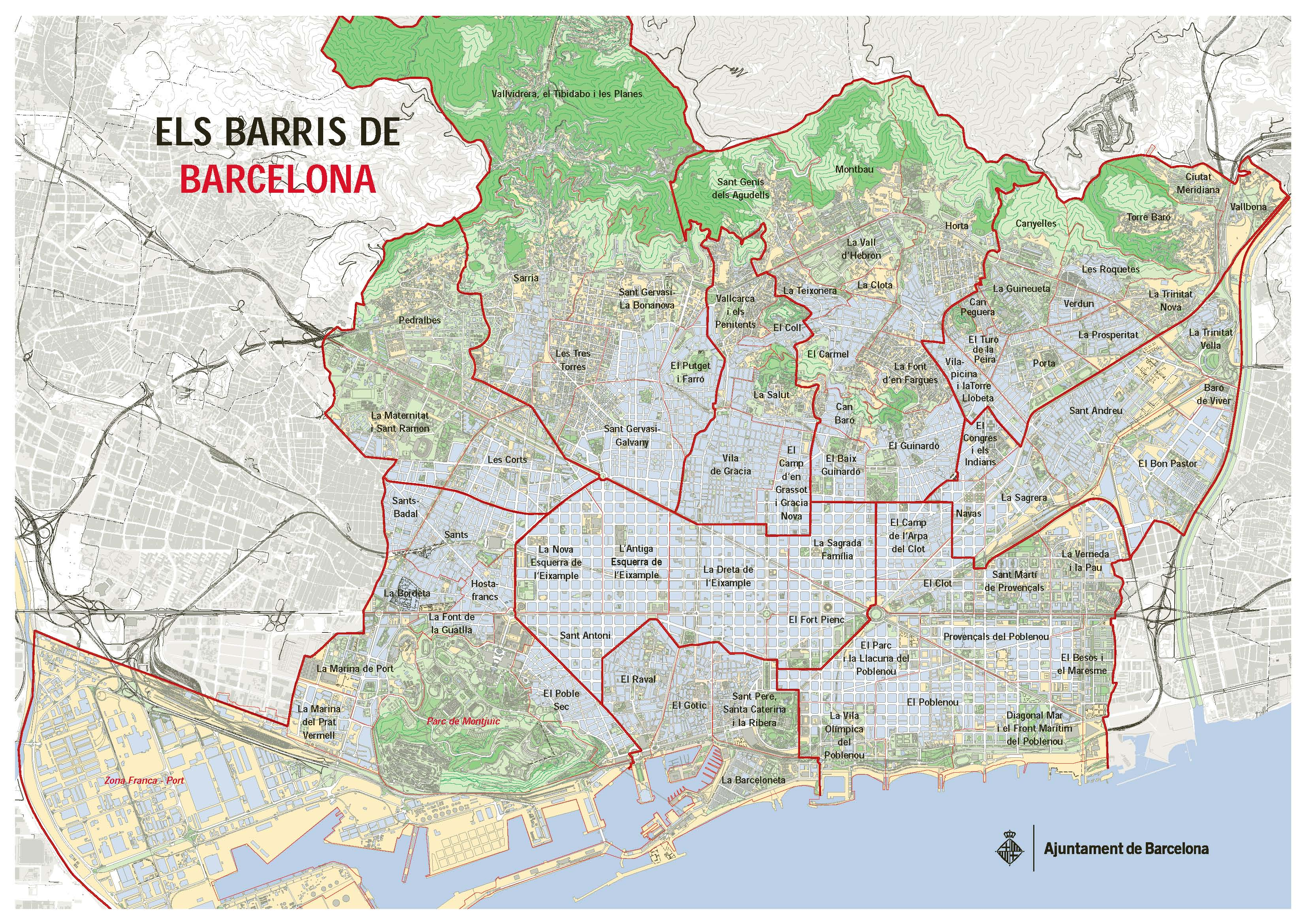 Barcelona District's Mental Health Boards