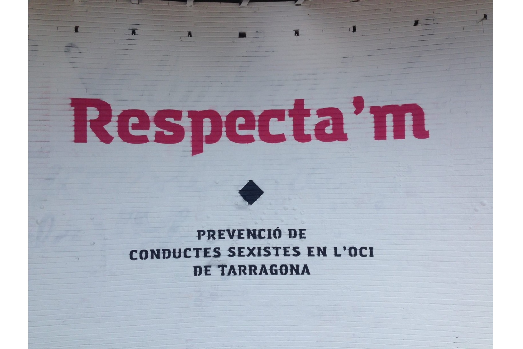 "Evaluation of the campaign ""Respecta'm"" (Respect me) in nightlife environment"